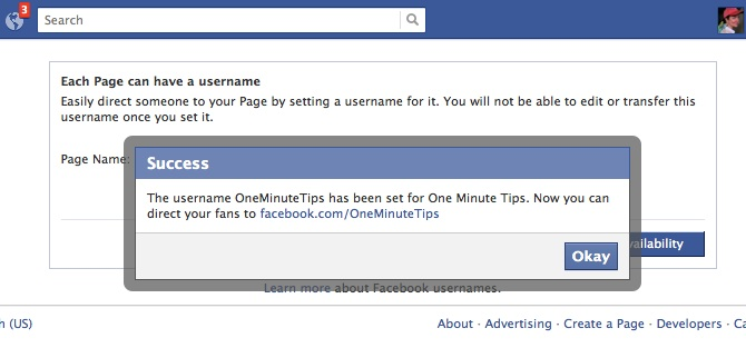 One Minute Tip: Create a URL for Your Facebook Business Page