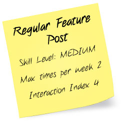 Blog Posts Made Easy Series: Blog Post Style 5 – Regular Feature Post