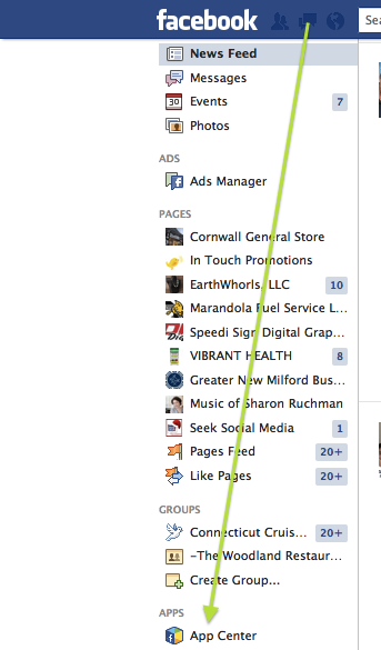 Alternative Way to Block Facebook Game Requests - Get to the App Center