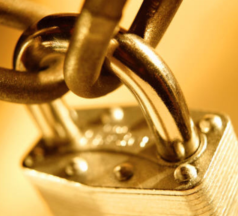 Passwords are like padlocks