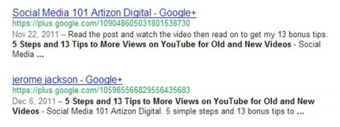 GooglePlusPageSearchResults
